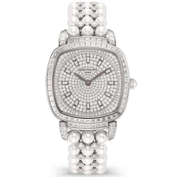 Patek Philippe Gondolo Haute Joaillerie 31mm 7042-100G-010 Diamond Dial-First Class Timepieces