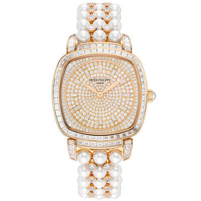 Patek Philippe Gondolo Haute Joaillerie 31mm 7042-100R-010 Diamond Dial-First Class Timepieces