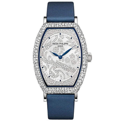 Patek Philippe Gondolo Haute Joaillerie 38mm 7099G Diamond Dial-First Class Timepieces