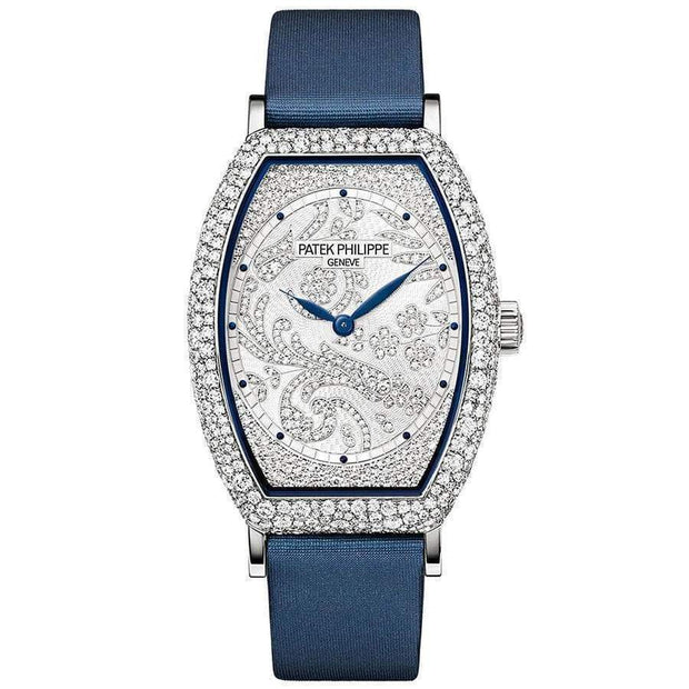 Patek Philippe Gondolo Haute Joaillerie 38mm 7099G Diamond Dial - First Class Timepieces