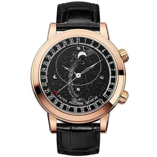 Patek Philippe Grand Complications Celestial Moon Age 44mm 6102R Black Dial - First Class Timepieces