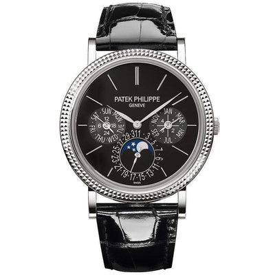 Patek Philippe Grand Complications Perpetual Calendar 38mm 5139G Black Dial - First Class Timepieces