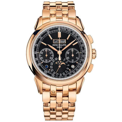 Patek Philippe Grand Complications Perpetual Calendar Chronograph 41mm 5270/1R Black Dial-First Class Timepieces