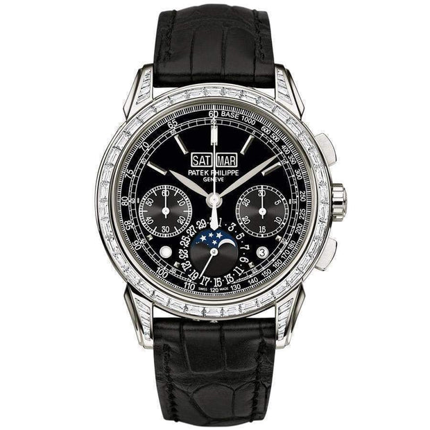 Patek Philippe Grand Complications Perpetual Calendar Chronograph 41mm 5271P Black Dial - First Class Timepieces
