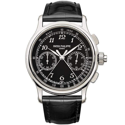Patek Philippe Grand Complications Split-Seconds Chronograph 41mm 5370P Black Dial - First Class Timepieces