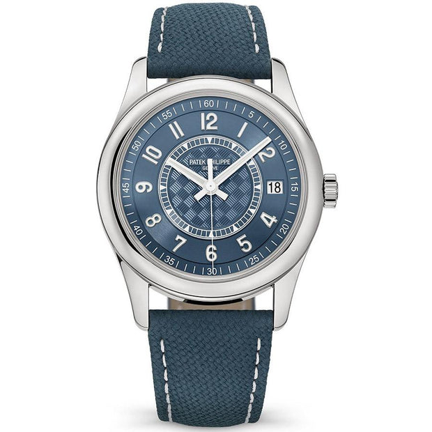 Patek Philippe Limited Edition Calatrava 40mm 6007A-001 Blue Dial-First Class Timepieces