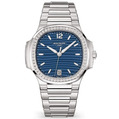 Patek Philippe Nautilus 35mm 7118/1200A Blue Dial-First Class Timepieces