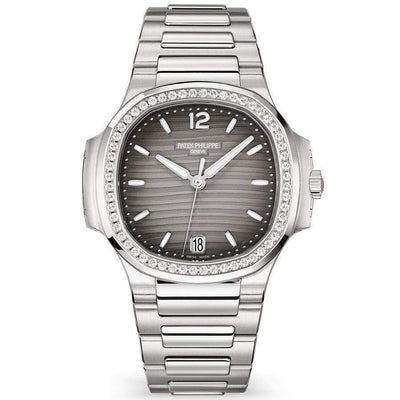 Patek Philippe Nautilus 35mm 7118/1200A Grey Dial-First Class Timepieces