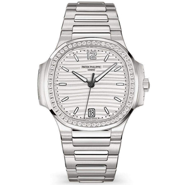 Patek Philippe Nautilus 35mm 7118/1200A White Dial-First Class Timepieces
