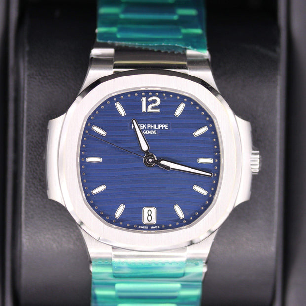Patek Philippe Nautilus 35mm 7118/1A Blue Dial - First Class Timepieces