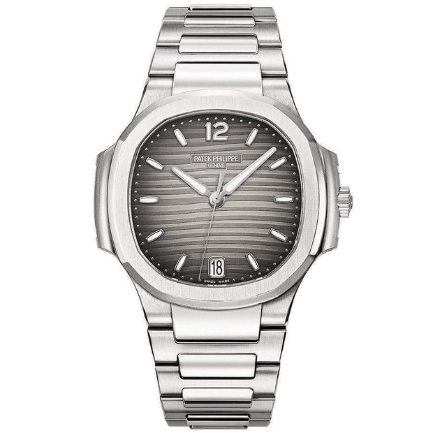 Patek Philippe Nautilus 35mm 7118/1A Grey Dial - First Class Timepieces