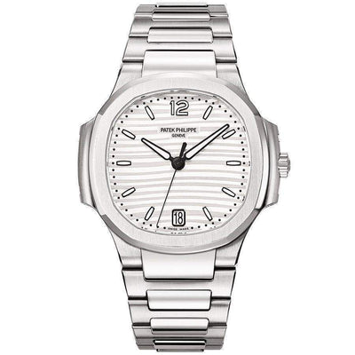 Patek Philippe Nautilus 35mm 7118/1A Silver Dial-First Class Timepieces