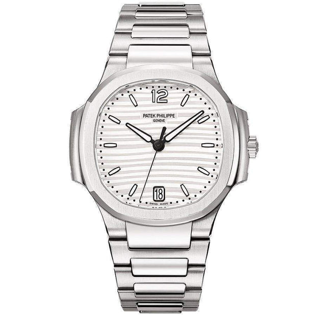 Patek Philippe Nautilus 35mm 7118/1A Silver Dial - First Class Timepieces
