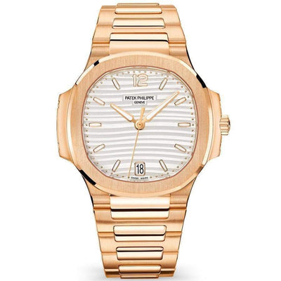 Patek Philippe Nautilus 35mm 7118/1R White Dial-First Class Timepieces