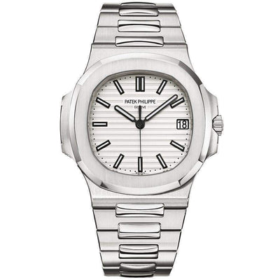 Patek Philippe Nautilus 40mm 5711/1A White Dial - First Class Timepieces