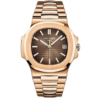 Patek Philippe Nautilus 40mm 5711/1R-001 Brown Dial-First Class Timepieces