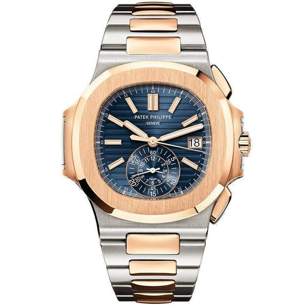 Patek Philippe Nautilus Chronograph 40mm 5980/1AR Blue Dial-First Class Timepieces