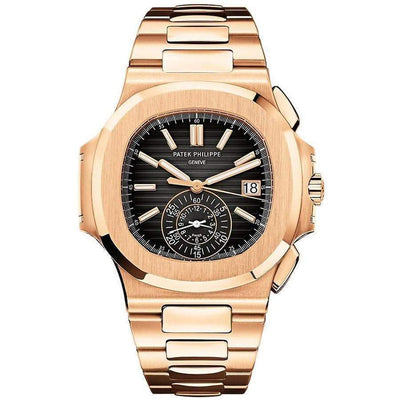 Patek Philippe Nautilus Chronograph 40mm 5980/1R Black Dial - First Class Timepieces