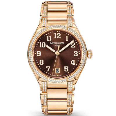 Patek Philippe Round Automatic Twenty-4 36mm 7300-1201R-010 Brown Dial-First Class Timepieces
