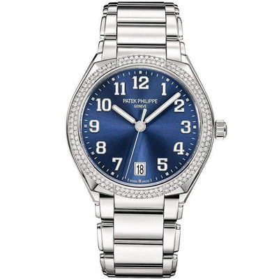Patek Philippe Round Automatic Twenty-4 36mm 7300/1200A Blue Dial - First Class Timepieces