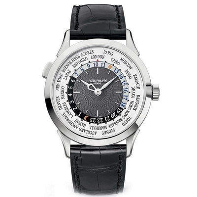 Patek Philippe World Time Complication 38mm 5230G Grey Dial - First Class Timepieces