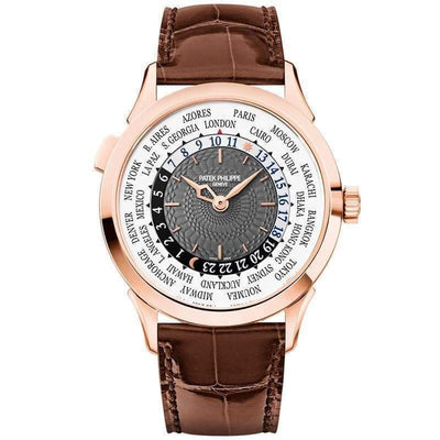 Patek Philippe World Time Complication 38mm 5230R Grey Dial - First Class Timepieces