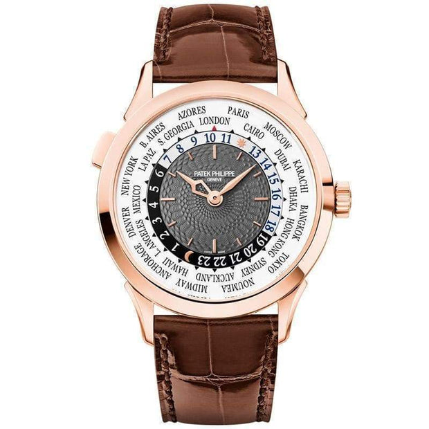Patek Philippe World Time Complication 38mm 5230R Grey Dial-First Class Timepieces