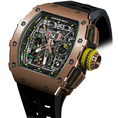Richard Mille Chronograph RM11-03 Rose Gold 50mm Overworked Dial