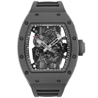 Richard Mille Limited Edition Bubba Watson RM055 Ceramic 50mm Overworked Dial-First Class Timepieces