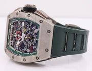 Richard Mille Limited Edition RM-011 Felipe Massa 50mm Overworked Dial Pre-Owned-First Class Timepieces