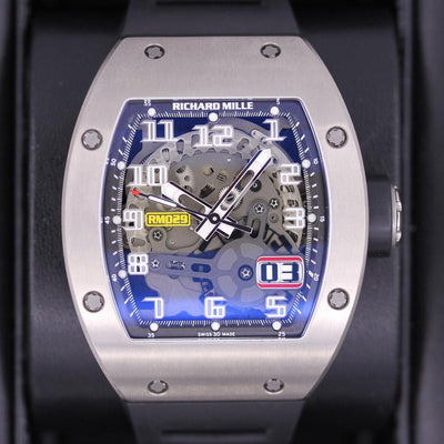 Richard Mille RM-029 Titanium 45mm Overworked Dial Pre-Owned-First Class Timepieces