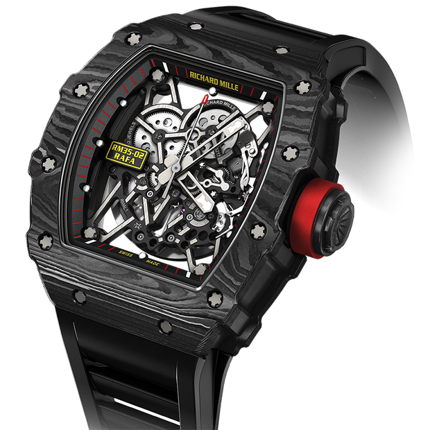 Richard Mille Rafael Nadal RM035-02 Carbon 50mm Overworked Dial