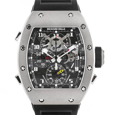 Richard Mille RM004 Titanium Chronograph 48mm Overworked Dial-First Class Timepieces