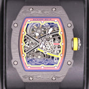 Richard Mille RM62-02 Carbon 47mm Overworked Dial Pre-Owned-First Class Timepieces