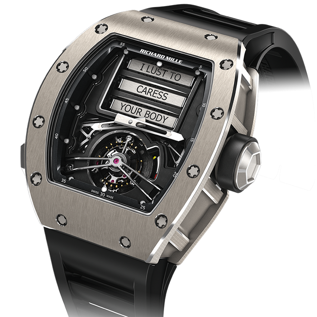 Richard Mille Limited Edition RM069 Erotic Tourbillon Titanium Overworked Dial