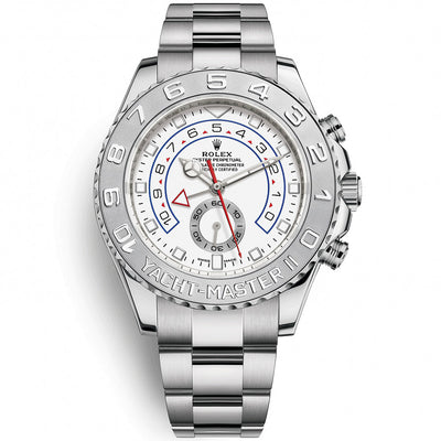 Rolex Yacht-Master II 44mm White Gold 116689 White Dial