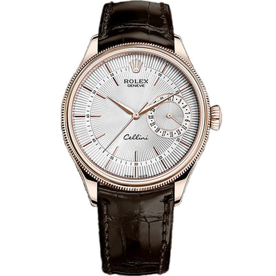 Rolex Cellini Date 39mm 50515 White Dial
