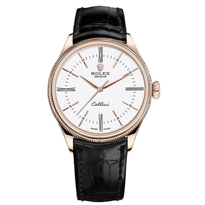Rolex Cellini Time Men's-50505 WBK-First Class Timepieces
