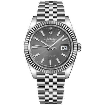 Rolex Datejust II 41mm 126334 Grey Dial