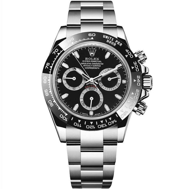 Rolex Daytona 40mm 116500LN Black Dial-First Class Timepieces
