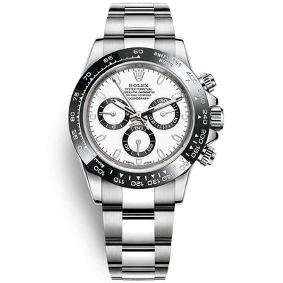 Rolex Daytona 40mm 116500LN White Dial-First Class Timepieces