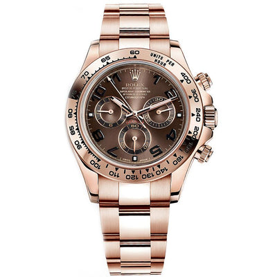 Rolex Daytona 40mm 116505 Chocolate Dial-First Class Timepieces