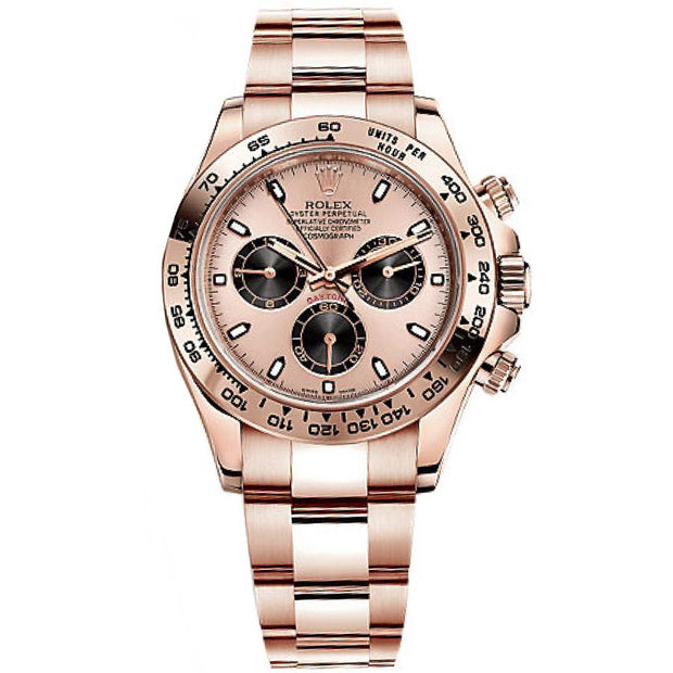 Rolex Daytona 40mm 116505PBK Pink Dial-First Class Timepieces