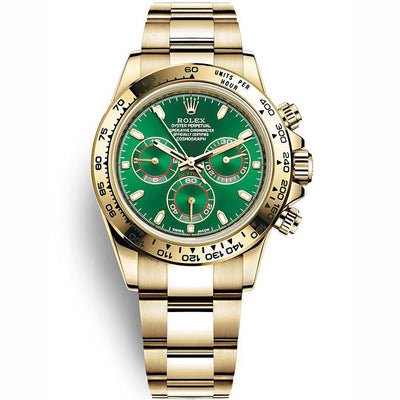 Rolex Daytona 40mm 116508 Green Dial-First Class Timepieces