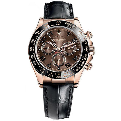 Rolex Daytona 40mm 116515LNBR Chocolate Dial-First Class Timepieces