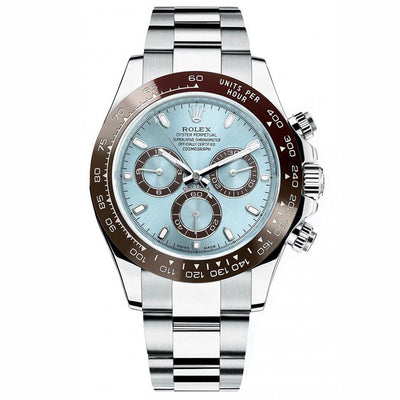Rolex Daytona 50th Anniversary Edition 116506 LB Ice Blue Dial-First Class Timepieces