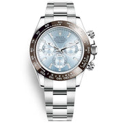 Rolex Daytona 50th Anniversary Edition 40mm 116506 Ice Blue Baguette Diamond Dial-First Class Timepieces