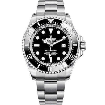 Rolex Sea-Dweller Deepsea 44mm 126660 Black Dial