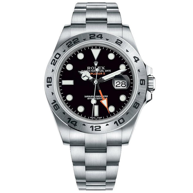 Rolex Explorer II 216570 42mm Black Dial-First Class Timepieces