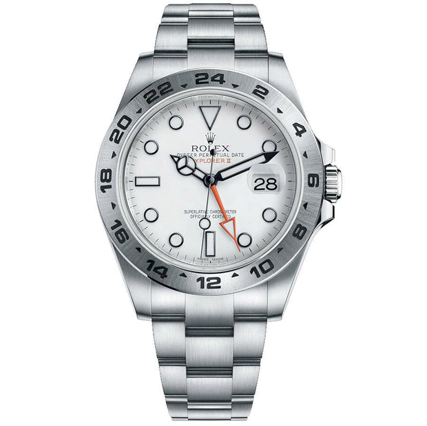 Rolex Explorer II 216570 42mm White Dial-First Class Timepieces
